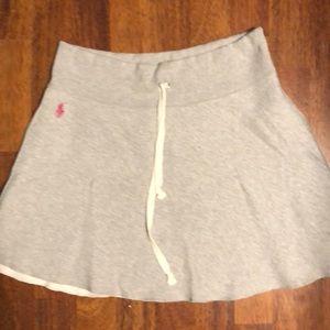 Polo sweat skirt